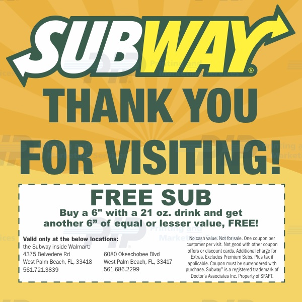 Subway_Sandwiches_Buy_One_Get_One_Free_Coupons_West_Palm_Beach